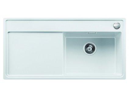 Granitový dřez Blanco ZENAR XL 6 S-F Silgranit bílá dřez vpravo s excentrem