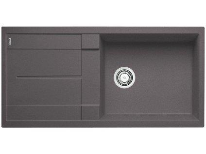 Granitový dřez Blanco METRA XL 6 S Silgranit šedá skála oboustranné provedení 518880