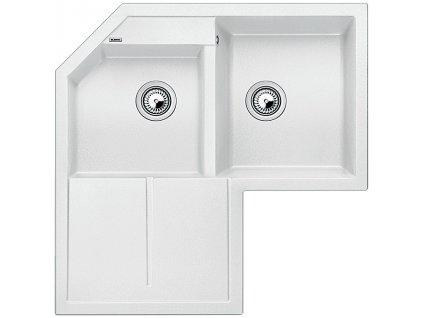Granitový dřez Blanco METRA 9 E Silgranit bílá 515568
