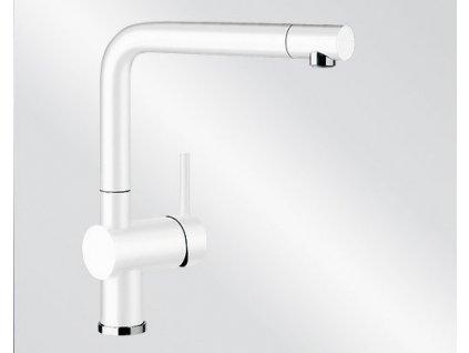 Kuchyňská baterie Blanco LINUS Silgranit-look bílá