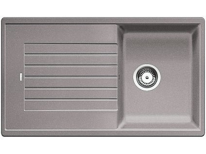 Granitový dřez Blanco ZIA 45 SL Silgranit aluminium oboustranné provedení 516739