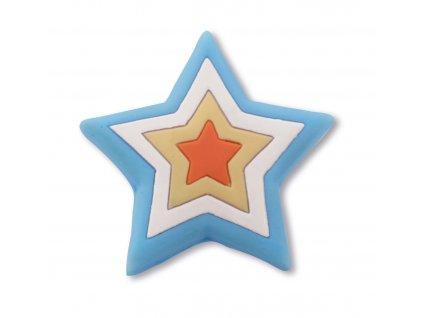 Nábytková dětská úchytka Hvězdička