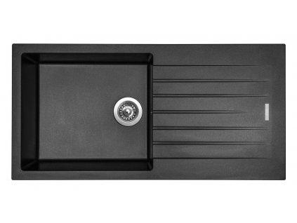 Granitový dřez Sinks PERFECTO 1000 Metalblack
