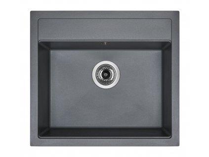 Granitový dřez Sinks SOLO 560 Titanium