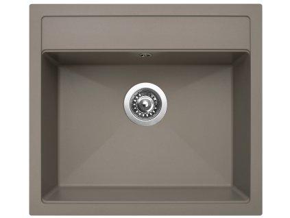 Granitový dřez Sinks SOLO 560 Truffle
