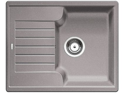 Granitový dřez Blanco ZIA 40 S Silgranit aluminium oboustranné provedení 516919