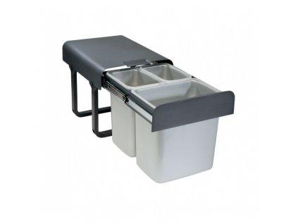 Odpadkový koš Sinks EKKO 40 2x8l+1x16l