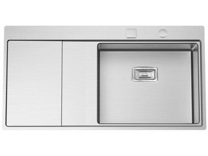 Nerezový dřez Sinks XERON 1000 pravý 1,2mm