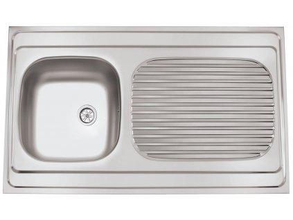 Nerezový dřez Sinks CLP-A 1000 M 0,5mm matný