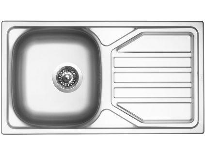 Nerezový dřez Sinks OKIO 780 V 0,5mm leštěný