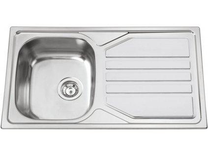 Nerezový dřez Sinks OKIO 860 XL V 0,6mm matný