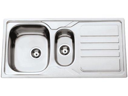 Nerezový dřez Sinks OKIO 1000.1 V 0,6mm matný