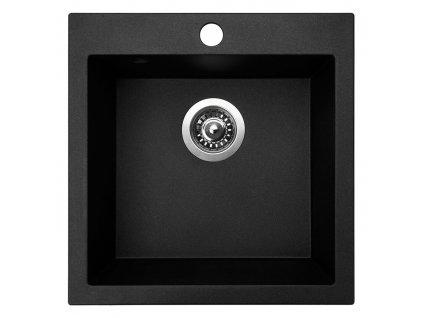 Granitový dřez Sinks VIVA 455 Granblack