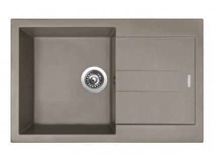 Granitový dřez Sinks AMANDA 780 Truffle