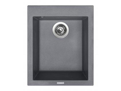 Granitový dřez Sinks CUBE 410 Titanium