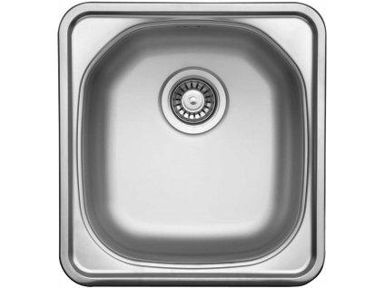 Nerezový dřez Sinks COMPACT 435 V 0,5mm matný