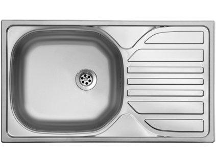 Nerezový dřez Sinks COMPACT 760 M 0,5mm matný