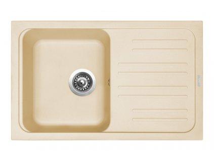 Granitový dřez Sinks CLASSIC 740 Sahara