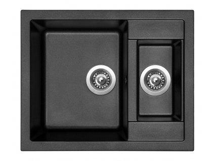 Granitový dřez Sinks CRYSTAL 615.1 Metalblack