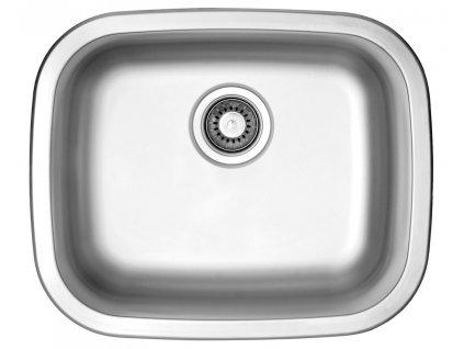 Nerezový dřez Sinks NEPTUN 526 V 0,6mm matný