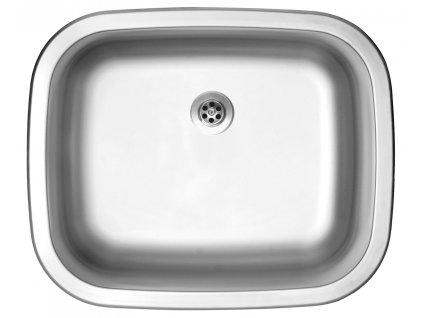Nerezový dřez Sinks NEPTUN 526 M 0,6mm matný
