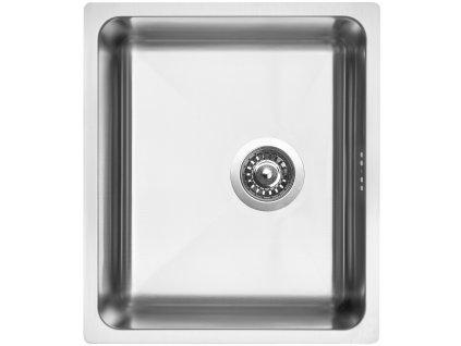 Nerezový dřez Sinks BLOCK 380 V 1mm kartáčovaný