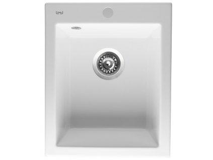 Keramický dřez Sinks CERAM 410 Bílá