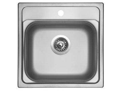 Nerezový dřez Sinks MANAUS 480 V 0,7mm matný