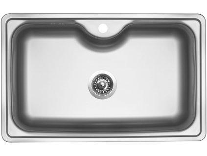 Nerezový dřez Sinks BIGGER 800 V 0,8mm matný