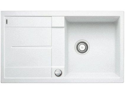 Granitový dřez Blanco METRA 5 S Silgranit bílá oboustranné provedení s excentrem 513037