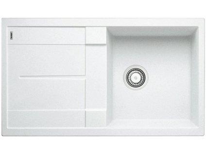 Granitový dřez Blanco METRA 5 S Silgranit bílá oboustranné provedení 513205