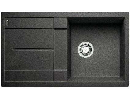 Granitový dřez Blanco METRA 5 S Silgranit antracit oboustranné provedení 513212