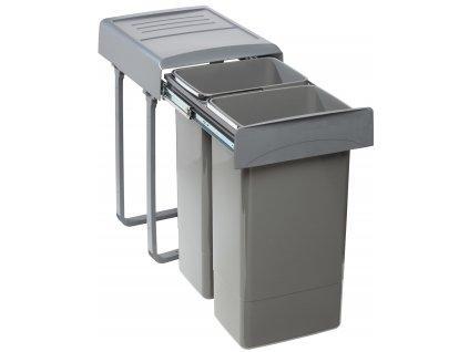 Sinks koš MEGA 45 2x26 l