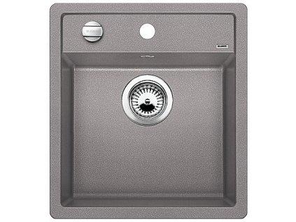 Granitový dřez Blanco DALAGO 45 Silgranit aluminium s excentrem 517157