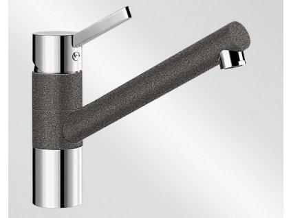 Kuchyňská baterie Blanco TIVO HD Silgranit-look dvoubarevná antracit/chrom