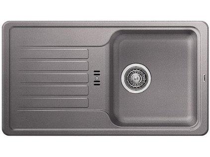 Granitový dřez Blanco FAVOS mini Silgranit aluminium oboustranné provedení 518184
