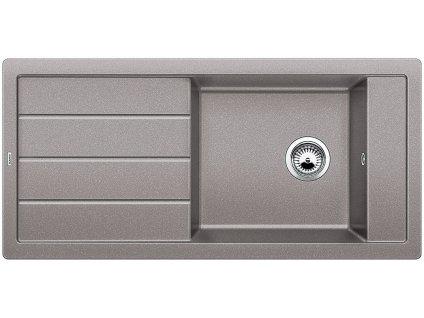 Granitový dřez Blanco MEVIT XL 6 S Silgranit aluminium oboustranné provedení 518355