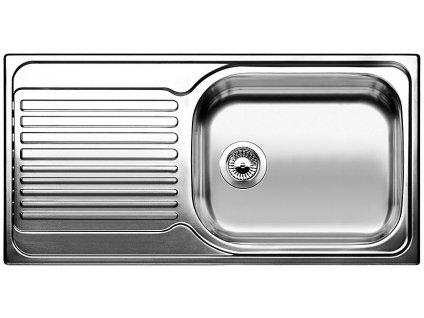 Nerezový dřez Blanco TIPO XL 6 S Nerez kartáčovaný oboustranné provedení