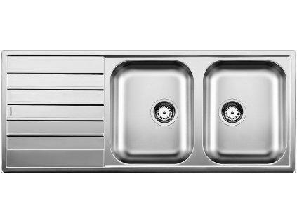 Nerezový dřez Blanco LIVIT 8 S Nerez kartáčovaný oboustranné provedení