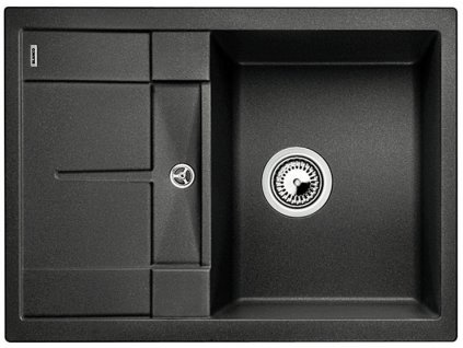 Granitový dřez Blanco METRA 45 S Compact Silgranit antracit oboustranné provedení 519561