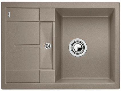 Granitový dřez Blanco METRA 45 S Compact Silgranit tartufo oboustranné provedení 519569