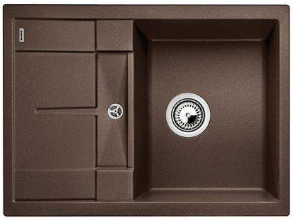 Granitový dřez Blanco METRA 45 S Compact Silgranit kávová oboustranné provedení 519570
