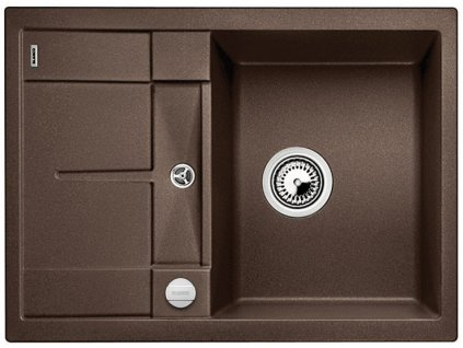 Granitový dřez Blanco METRA 45 S Compact Silgranit kávová oboustranné provedení s excentrem 519581