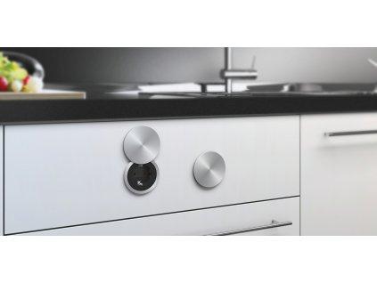 Elektro zásuvka Bachmann PIX 230V bílá, černá, im. nerez