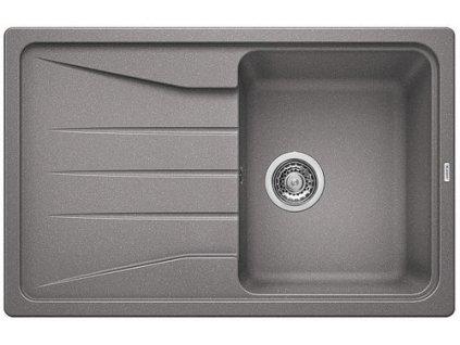 Granitový dřez Blanco SONA 45 S Silgranit aluminium oboustranné provedení 519664