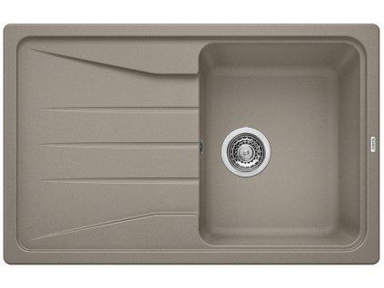 Granitový dřez Blanco SONA 45 S Silgranit tartufo oboustranné provedení 519669