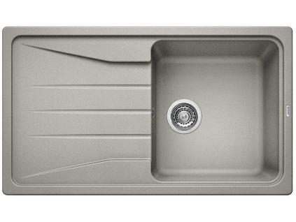 Granitový dřez Blanco SONA 5 S Silgranit aluminium oboustranné provedení 519673