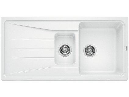 Granitový dřez Blanco SONA 6 S Silgranit bílá oboustranné provedení 519855