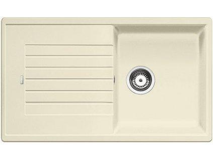 Granitový dřez Blanco ZIA 5 S Silgranit jasmín oboustranné provedení bez excentru 520516