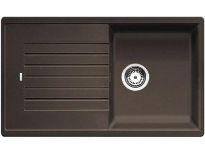Granitový dřez Blanco ZIA 5 S Silgranit káva oboustranné provedení bez excentru 520519